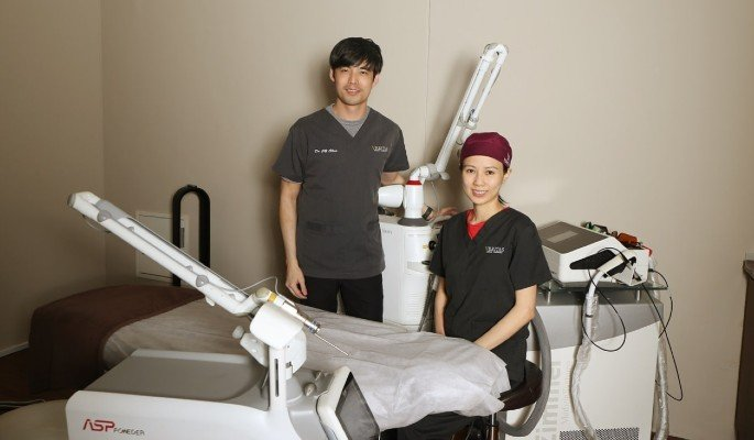 Founders of Veritas clinic